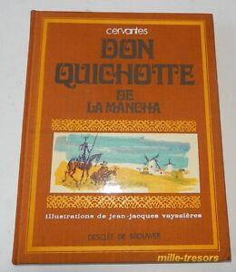 DON-QUICHOTTE-de-la-MANCHA-Illustrations-de-Jean-Jacques-VAYSSIERES-1971