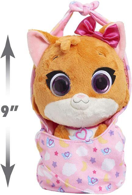 Cuddle and Wrap Plush Disney Jr T.O.T.S Mia The Kitten Kid Toy Gift