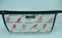 Kate Spade Medium Heddy Lilac Court Make-up Bag-lipstick Smudges Pink Red White