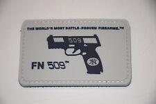 FNH FN 509 PISTOL PROMO PATCH HOOK/LOOP FIVE SEVEN 5.7X28MM FNX FNS FNP BALLISTA