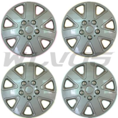 "4pcs BLACK 16/"" Hubcap Wheelcover Fits 2010-2020 NISSAN SENTRA ALTIMA SET"