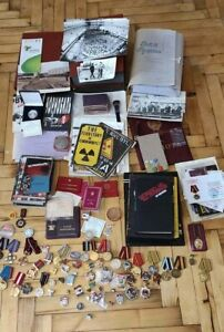 Very Rare Сomplete Сollection CHERNOBYL LIQUIDATOR USSR Union Nuclear Tragedy