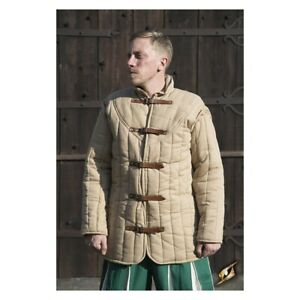 Medieval Reenactment Thick Historical Padded Gambeson Aketon Armor
