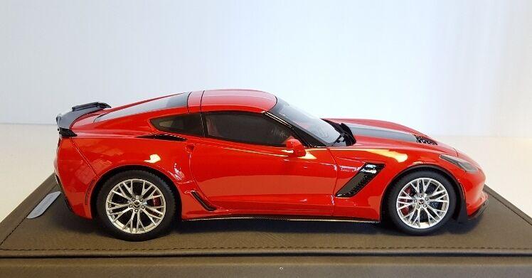 2015 Corvette C7 Z06 en antorcha Roja Por Bbr en 1 18 Escala