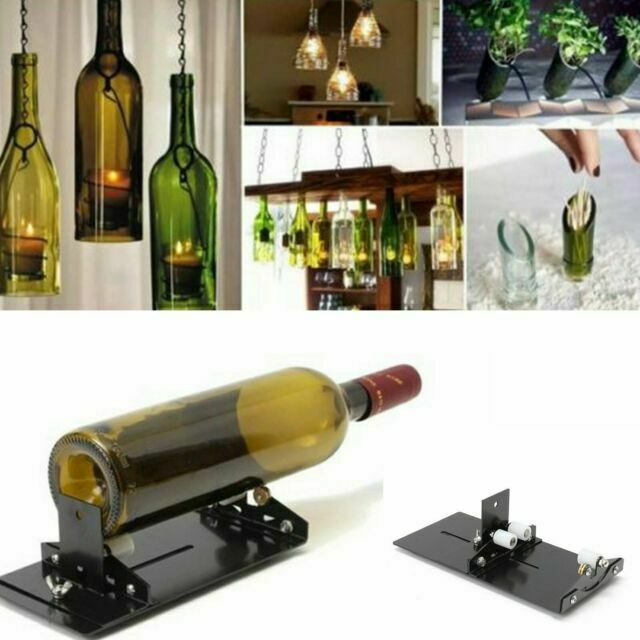 Beer Glass Wine Bottle Cutter Cutting Machine Jar DIY Craft Recycle Tool