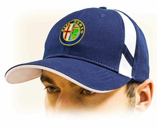 Cotone misura regolabile Blu scuro ALFA ROMEO unisex Baseball cappellino Cap