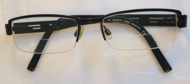 80b694509d8 Kenneth Cole Reaction Eyeglasses Frames Kc8001 Col 002 52 17 140 Flex Hinge