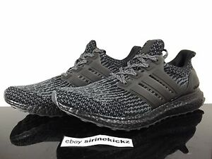 Image is loading Adidas-3-0-ultra-boost-Triple-Black-Grey-