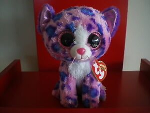 0929b735ca2 Ty Beanie Boos REAGAN leopard 6 inch NWMT.Claire s Exclusive.Limited ...