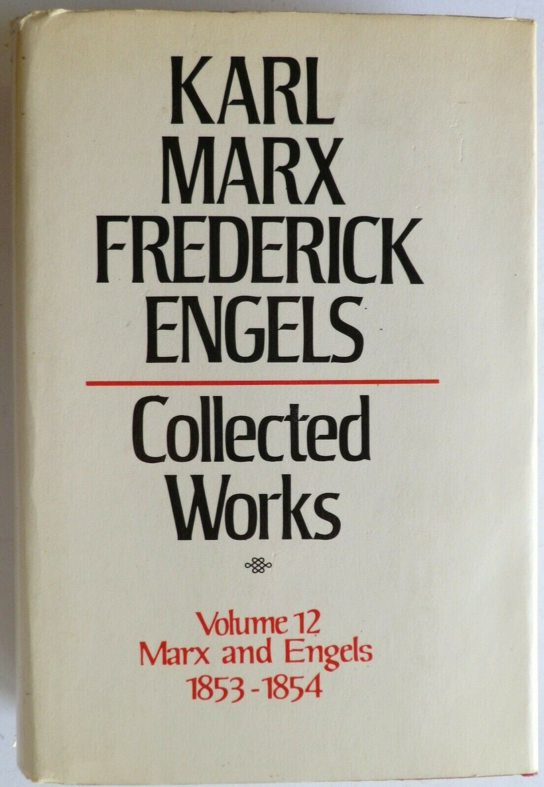Marx and Engels Collected Works 1853-54 Frederick Engels Karl Marx