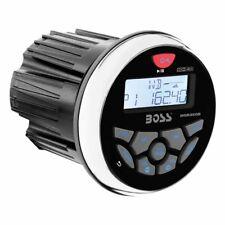 "Boss Audio MGR350B 3"" Gauge Hole Marine Bluetooth MP3 Stereo Radio Boat Receiver"