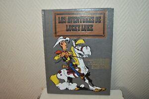 Las-Aventuras-de-Lucky-Luke-Album-5-Canciones-Bd-Dargaud-amp-Hachette-1990-Album-J