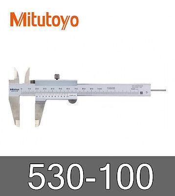Mitutoyo 530-100 Vernier Caliper 0-100mm Accuracy ±0.05mm Stainless Steel