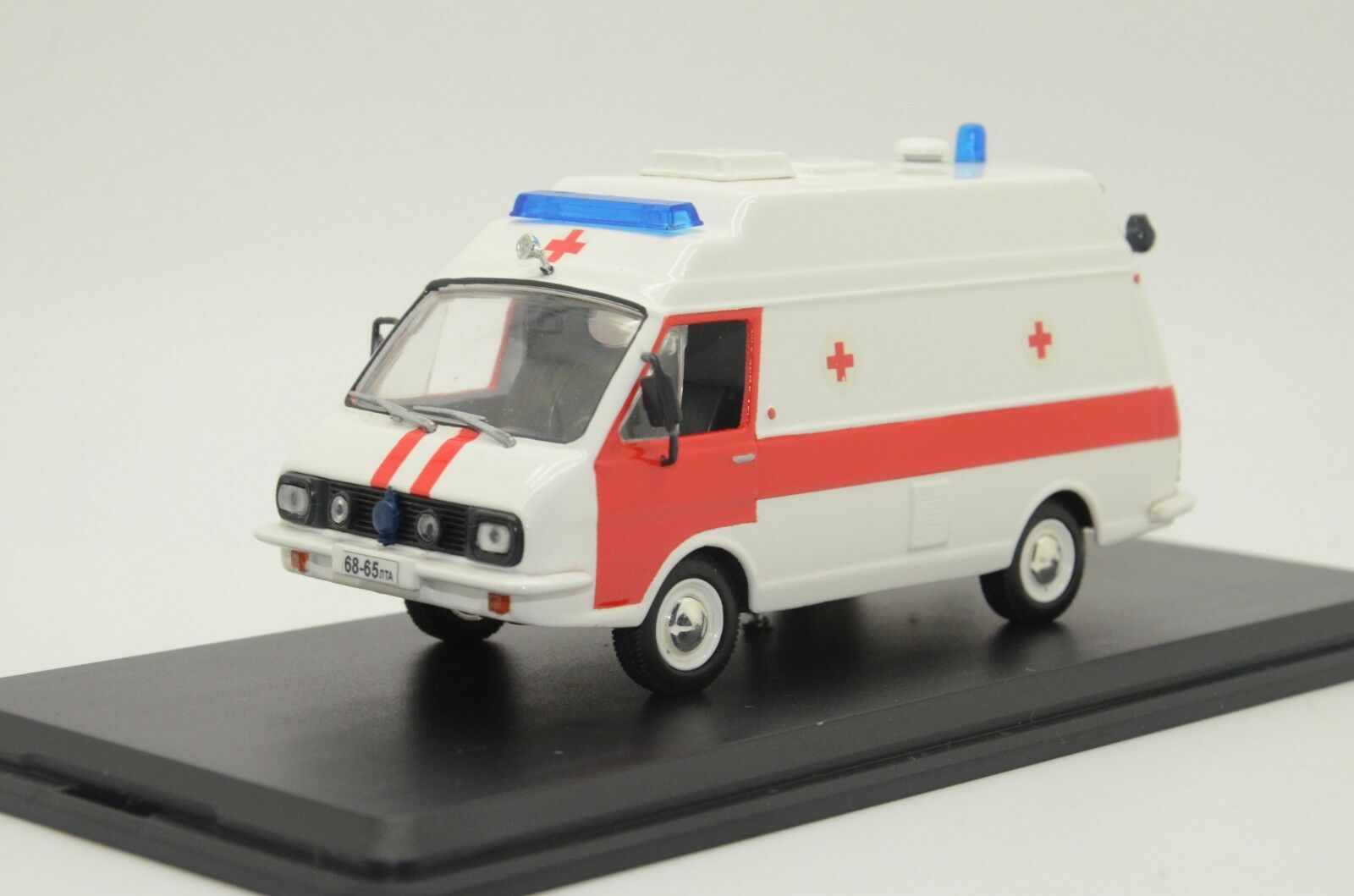 rara Royal Air Force Tampo ambulancia Blanco Hecho a Medida 1/43