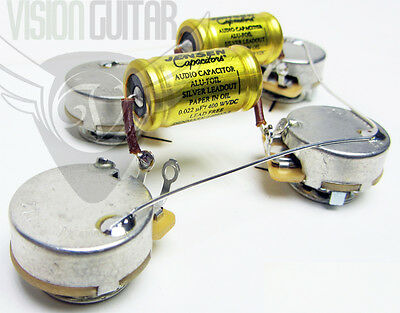 premium pre wired gibson les paul wiring harness kit cts pots rh ebay com