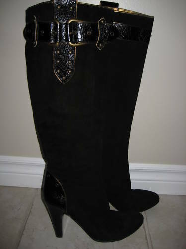 GIUSEPPE ZANOTTI DESIGN FOR VICINI SUEDE BOOTS BOOTS BOOTS SIZE 40 91af01