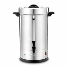 Waring Wcu110fr Factory Refurbished Commercial 30 To 110 Cup Stainless Dual Heat