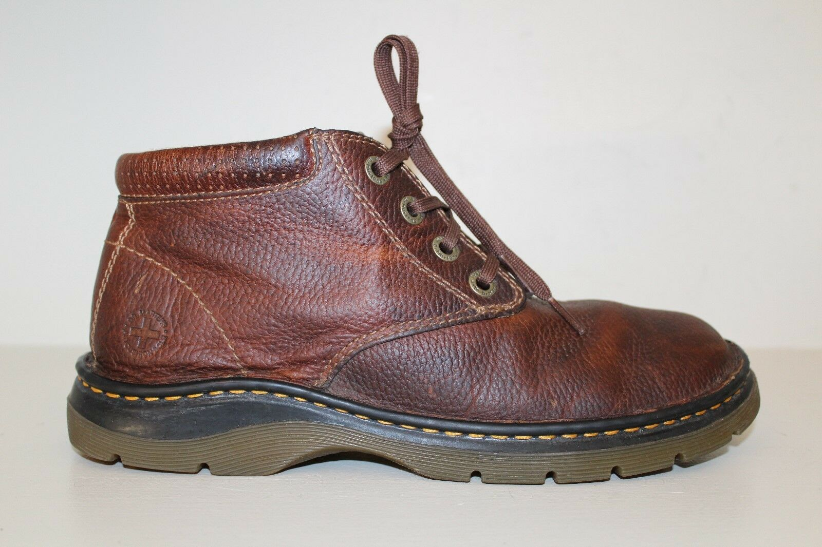 Dr Martens Mens Ankle Boot Size 8 Rico 4 Eye Desert Brown Leather Chukka shoes