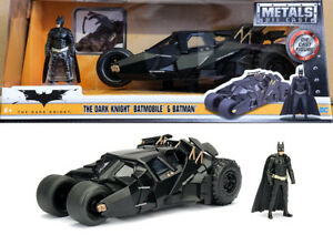 Tumbler Batmobile & Batman Figur The Dark Knight Figure 1:24 Jada Toys 98261