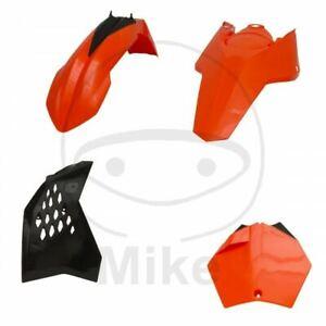 KIT-CARENE-PLASTICHE-COMPLETO-ARANCIO-NERO-KTM-150-SX-2T-2009-2010