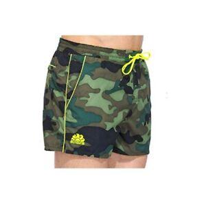 Pantaloncini mare uomo SUNDEK in tessuto militare M619BDP0153 -541