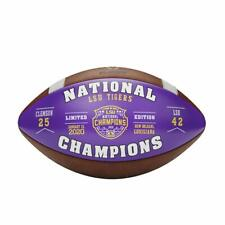 Boelter Brands LSU Tigers 2019-2020 CFP National Champions Purple Glass Ornament