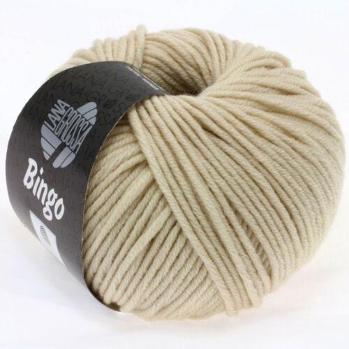 Wolle Kreativ Bingo Lana Grossa Fb 152 natur 50 g