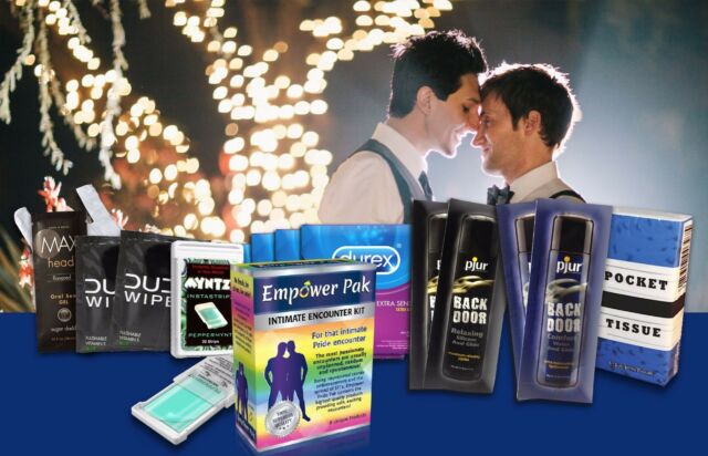 EMPOWER PAK PRIDE INTIMATE ENCOUNTER KIT 8 PRODUCTS FOR GAY SEXUAL ENCOUNTERS