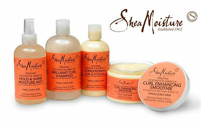 Shea Moisture Coconut & Hibiscus Shampoo/ Conditioner/ Smoothie/ Milk/ Souffle