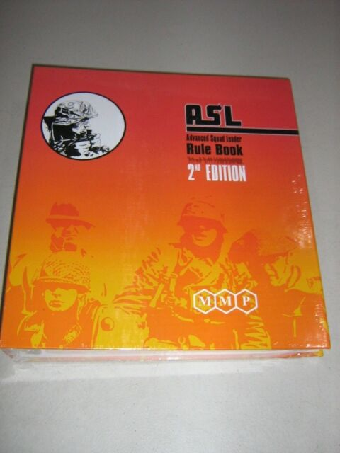 Advance Squad Leader Rule Book 2nd Edition (New)
