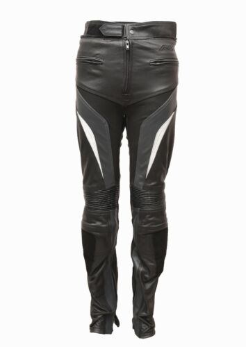 RKSPORTS MENS SPEED 7 LEATHER COWHIDE MOTORCYCLE MOTORBIKE JEANS TROUSERS