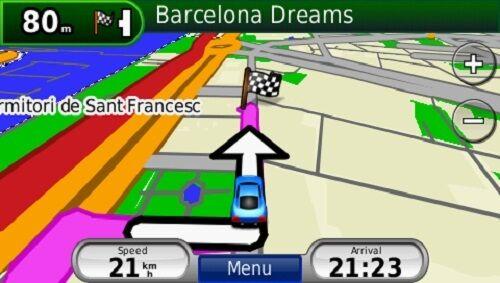 2019 Spain and Portugal car navigation map set for Garmin GPS on MicroSD card