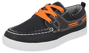 J-C-DEES-N1090-marine-de-Garcons-Chaussures-a-lacets-decontractees-eu-11-x-3