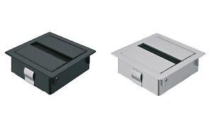 PASACABLES Mesa Oficina Cable por dejar anguloso Caja de cable H9001 ...