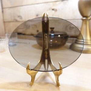 "Glass Tinted Oval Bowed 8 3/8"" Atlantic Richfield Company ARCO - Swanky Barn"