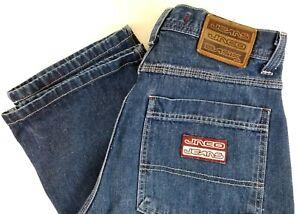 Vintage-90s-Jnco-Throttle-Jeans-Men-039-s-Size-32-X-34-Grunge-Rave-Punk