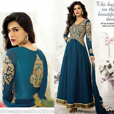 New Bollywood Party Wear Indian Ethnic Designer Pakistani Anarkali Salwar Kameez