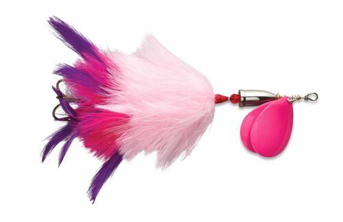 "Blue Fox Vibrax Super Bou 8 Tandem Blades Pink Purple 7 3//4/"" Musky Pike"
