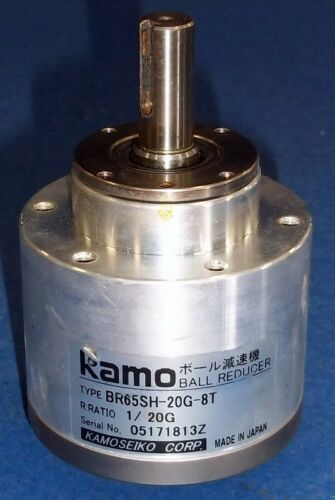 KAMOSEIKO KAMO 1//20G BALL REDUCER GEAR REDUCER BR65SH-20G-8T
