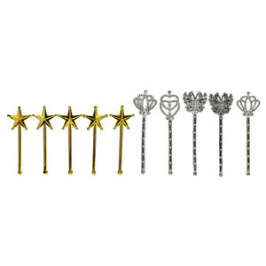 10X-Plated-Toys-Girls-Accessories-Play-House-Toys-Princess-Wand-for-s-WGJCAU