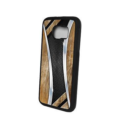 TPU Schutz Hülle für Samsung Case Tasche Cover Etui Silikon Aluminium Motiv