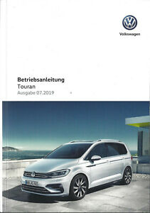 VW-TOURAN-2-Betriebsanleitung-2019-Bedienungsanleitung-Handbuch-Bordbuch-BA