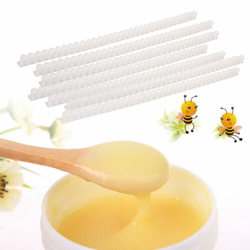 10 Strip Beekeeping Tool Single Row Plastic Queen Cell Cup 33 Royal Jelly Holes