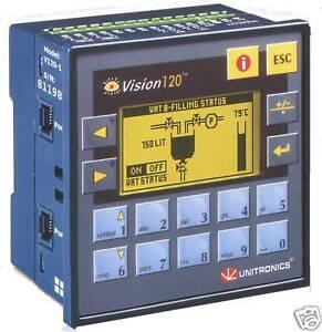 Details about UNITRONICS V120-22-T38 PLC GRAPHIC HMI