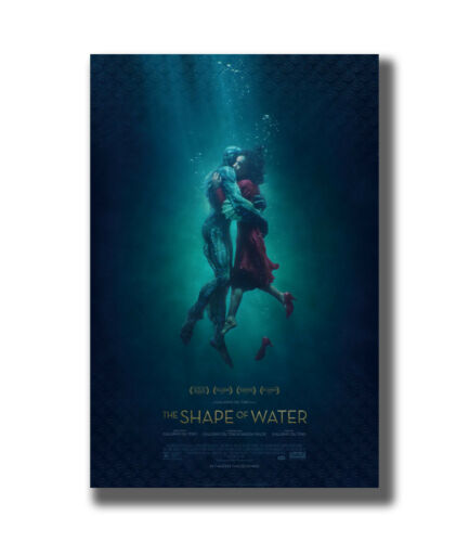 The Shape Of Water 2017 New Movie Fabric Poster Art TY383-20x30 24x36 Inch
