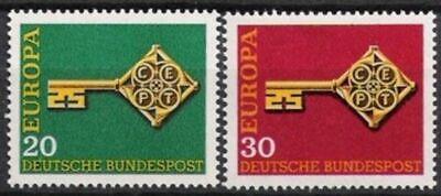 Bund Nr.559/60 ** Europa, Cept 1968, Postfrisch GroßE Auswahl;