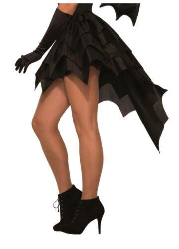 Black Bat Tutu Skirt Crinoline Adult Women Costume Vampiress Accessory Petticoat