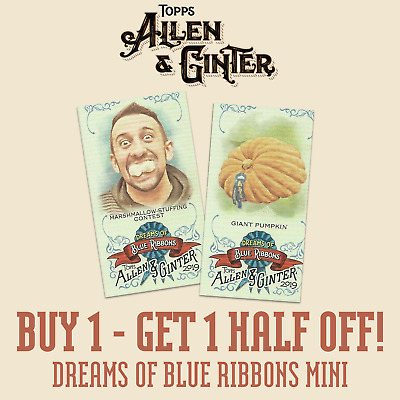 2019 TOPPS ALLEN /& GINTER MINIS A/&G BACK SPs #1-400 SPs BUY 1 GET 1 FREE!