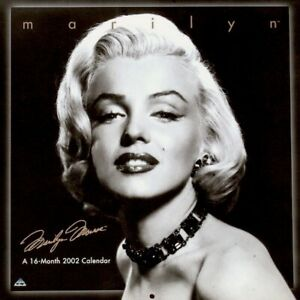 Marilyn-Monroe-Calendar-2002-Frank-Powolny-Promo-Pinup-Photo-Publicity-MT-SEALED
