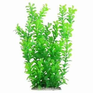 "10"" Green Water Plastic Plant Decoration for Aquarium"